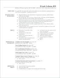 Resume Objectives For Nursing Keralapscgov