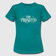 Team Prosecco Frauen T Shirt Frauen T Shirt Schwarz Shirts