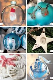 handprint thumbprint ornaments