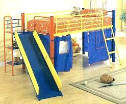 kids loft bed with slide.  Loft Bunk Bed Slide Only With Cool Kids Beds    And Kids Loft Bed With Slide