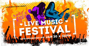 Wind creek steel stage performers. Music Fest Banner Template Postermywall