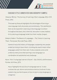 Pin By Annotated Bib On Chicago Style Annotated Bibliography Sample