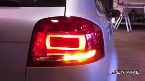 Audi A3 8p Rear Lights Audi A3 8p Tail Lights Facelift