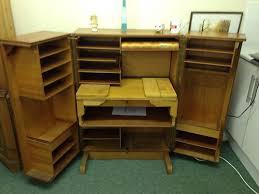 vintage home office desk. retro vintage teak folding home office fold away desk rare compact designer ebay vintage home office desk