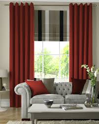 tate blackout lining pencil pleat curtains rust