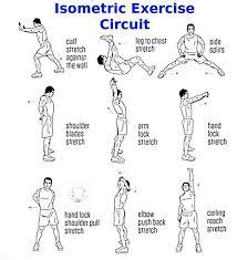 Isometric Exercise Circuit Isometric Exercises Exercise