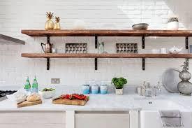 interior design fo open shelving kitchen. Dark Open Shelves In White Kitchen Interior Design Fo Shelving
