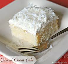 Coconut Cream Cake Melissassouthernstylekitchencom
