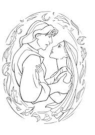 Small Picture Pocahontas Coloring Pages