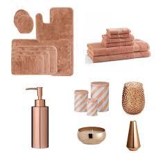 copper coloured bathroom accessories. color copper innedesign bathroom accessories coloured o