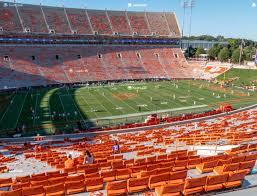 Clemson Memorial Stadium Uh Seat Views Seatgeek