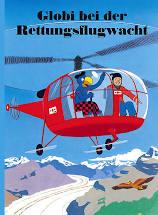 Globi bei der Rettungsflugwacht Cover