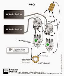 p90 wiring schematics, which one? my les paul forum Gibson 335 Wiring Diagram now, as getting everything thru the f hole will be a bit complicated it seems better to follow mojotone's schematic but i'm curious about the tone capacitor gibson 335 wiring diagram 4 wire duncans