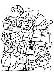 Kleurplaat Sinterklaas Kleurplaat Sinterklaas Speelgoed Animaatjesnl