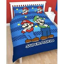 mario twin bedding superb bedroom set super kart bed sets t