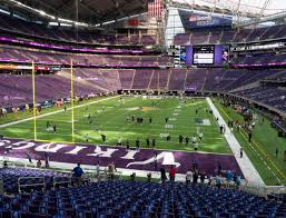 Us Bank Seating Chart Vikings U S Bank Stadium Section 140 Seat Views Seatgeek