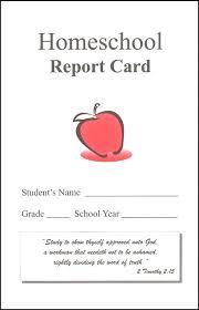 Homeschool Report Card W/ Bible Verse, Academic Advantage, 025265 ...
