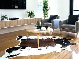 faux animal skin rugs design