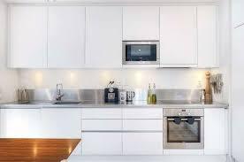 Modern Kitchen Design With White Cabinets Awesome Modern White Brilliant  Modern Kitchen White Cabinets