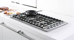 Viking VGSU5366BSS 36 Inch Gas Cooktop with Continuous Grates Child