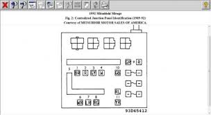 1998 mitsubishi mirage fuse box diagram 1998 image 1992 mitsubishi mirage fuse box electrical problem 1992 on 1998 mitsubishi mirage fuse box diagram