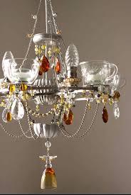 teacup chandeliers