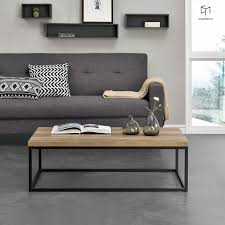 Table basse design style industriel TBLB1-ECAS-PXL : Vente de ...