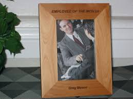 Employee Of The Month Photo Frame Employee Of The Month Frames Under Fontanacountryinn Com