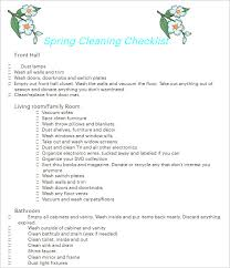 Cleaning Checklist Template Free 43 Cleaning Checklist Templates Free Pdf Word Excel Formats