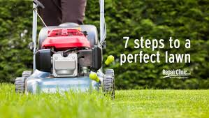 outdoor power equipment seven steps to a perfect lawn