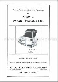 wico series a instructions magneto books books transfers wico series a instructions