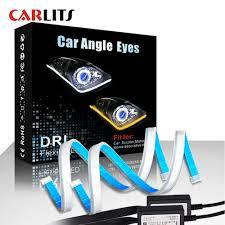 <b>2PCS 60cm DRL</b> New Slim Flexible LED Strip <b>daytime</b> running light ...