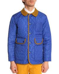 Blue Quilted Barn Jackets for Men | Men's Fashion & Blue Quilted Barn Jackets for Men Adamdwight.com