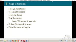 Overview Citation Management Software Academic Guides At Walden