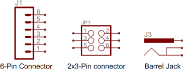 how to a schematic learn sparkfun com connector symbols
