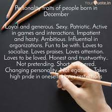 Personality Traits Of Peo Quotes Writings By Pushpa Chowdhury