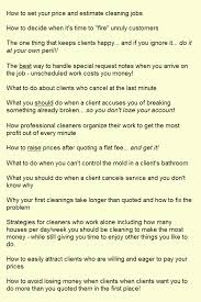 How To Price A House Cleaning Job Start A House Cleaning Business For Maximum Profit