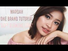 wardah one brand makeup tutorial soft glowing look honest review widyanova