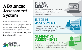 smarter assessments smarter balanced assessment consortium a balanced assessment system