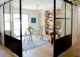 office doors with windows. It Made The Most Sense To Make Mirror Dining Space By Doing Same Sliding Glass Doors And Large Windows. Office With Windows R