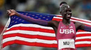 Athing Mu wins gold for U.S. in women's ...