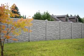 Simple Vinyl Privacy Fence Ideas Ecostone Rock Fencing Prices And