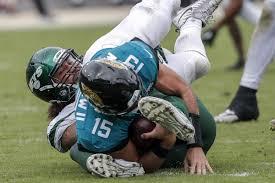 Jacksonville Jaguars Vs New York Jets Week 8 Sack Analysis