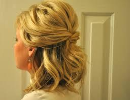 Bridesmaid Hairstyles For Short Hair Half Up