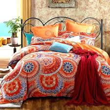 burnt orange king size comforter orange duvet cover queen interior burnt quilt bedding sets and covers within king size