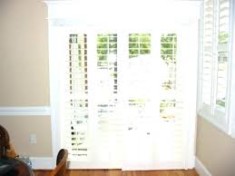 how to install plantation shutters on sliding doors sliding door shutters medium size of sliding plantation