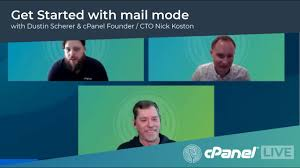 cPanel LIVE! | Get Started with mail node featuring Nick Koston ...