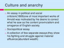 culture and anarchy jpg cb   3 culture and anarchy  an essay