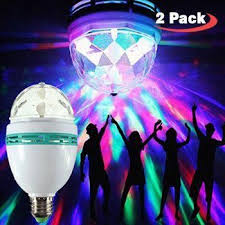 diy party lighting. 2 pack led disco party bulb your personal u0026 private diy lighting