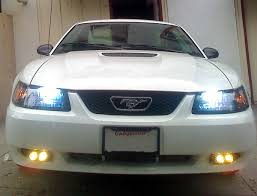99 04 v6 fog light installation qs page 2 ford mustang forum 99 04 Mustang Fog Light Wiring Harness click image for larger version name 01vsixwhitepony lights jpg views 2821 size 99-04 Mustang Ignition Starter Switch